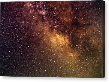 Center Of The Milky Way Canvas Print