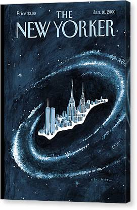 The Universe Canvas Print - Center Of The Universe by Mark Ulriksen