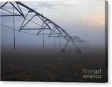 Center-pivot Irrigation Canvas Print by Mike  Dawson