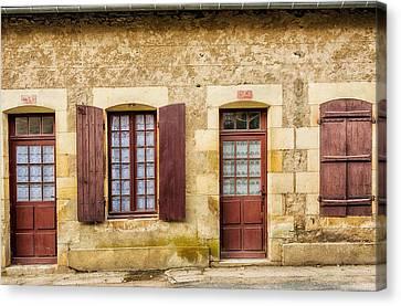 Central France Apremont-sur-allier Canvas Print