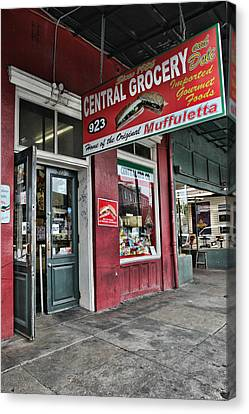 Central Grocery Canvas Print by Lynn Jordan