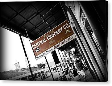 Central Grocery Canvas Print by Scott Pellegrin