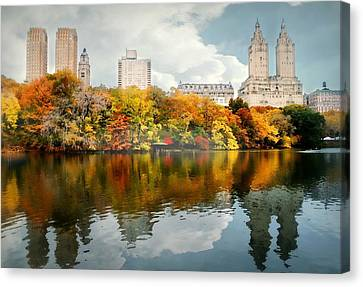 Central Park #1 Canvas Print by Diana Angstadt