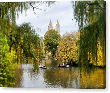 Central Park #7 Canvas Print by Diana Angstadt