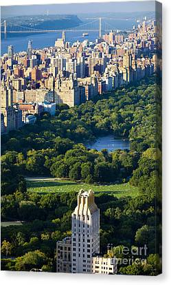 Central Park Canvas Print by Brian Jannsen