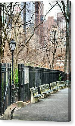 Central Park Canvas Print by JC Findley