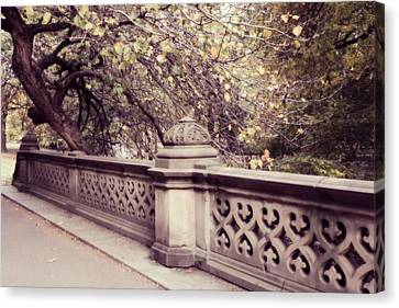 Central Park - New York Canvas Print by Marianna Mills