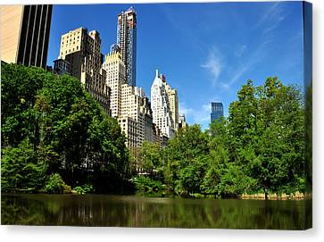 Central Park No. 3 Canvas Print