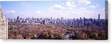 Nyc Rooftop Canvas Print - Central Park, Nyc, New York City, New by Panoramic Images