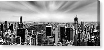 Central Park Perspective Canvas Print by Az Jackson