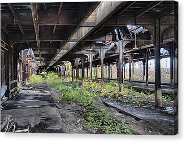 New York New York Com Canvas Print - Central Terminal 7d08410 by Guy Whiteley