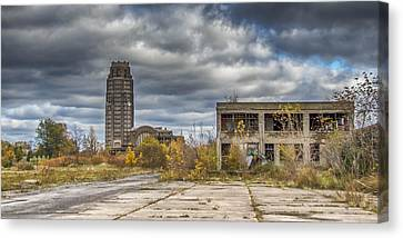 Central Terminal Ruins Canvas Print by Guy Whiteley