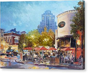 Central West End - St.louis Canvas Print by Irek Szelag