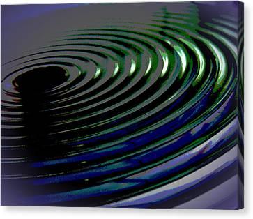 Centrifugal Abstract Canvas Print