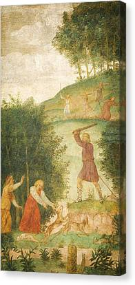 Child Jesus Canvas Print - Cephalus Punished At The Hunt by Celestial Images