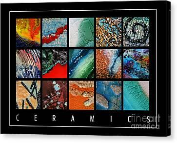 Ceramics Canvas Print by Urilla Art
