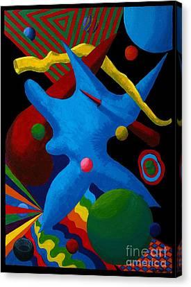 Cerebral Cessation Canvas Print by Vicki Maheu