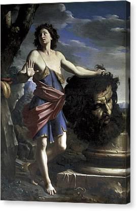 Cerrinigiovanni Domenico 1609-1681 Canvas Print by Everett