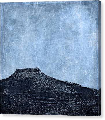 Cerro Pedernal Canvas Print by Carol Leigh