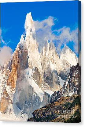 Cerro Torre Canvas Print by JR Photography