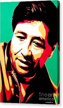 Cesar Chavez Canvas Print