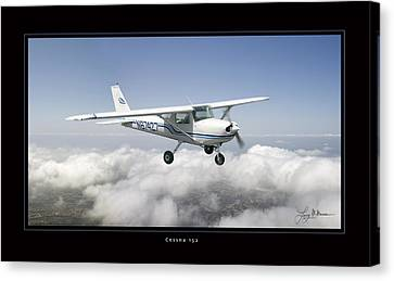 Cessna 152 Canvas Print by Larry McManus