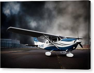 Cessna Ground Canvas Print by Paul Job