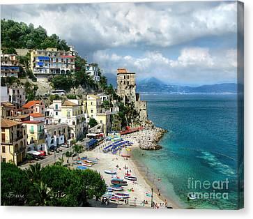 Cetara. Amalfi Coast Canvas Print by Jennie Breeze
