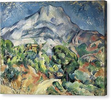 Cezanne, Paul 1839-1906. The Mountain Canvas Print by Everett
