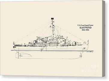 C G C  Eastwind Canvas Print