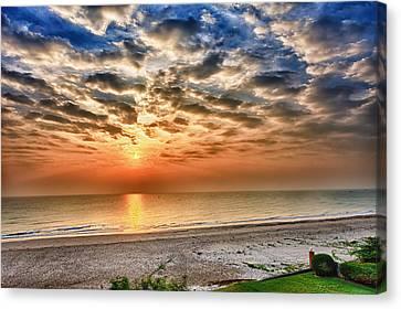 Cha-am Sunrise Canvas Print
