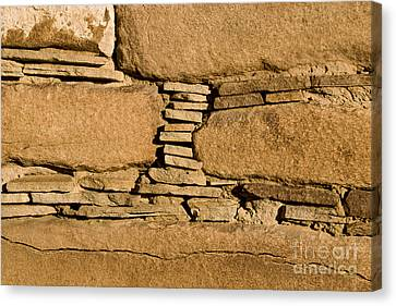 Chaco Bricks Canvas Print by Steven Ralser