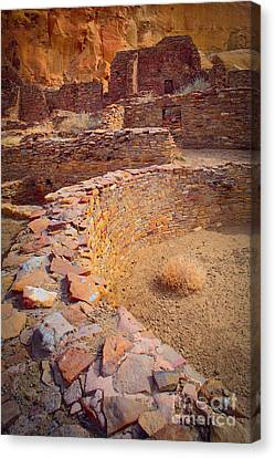 Chaco Ruins #1 Canvas Print by Inge Johnsson