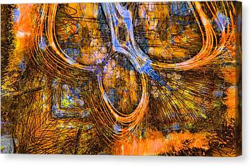 Chained Inside Canvas Print