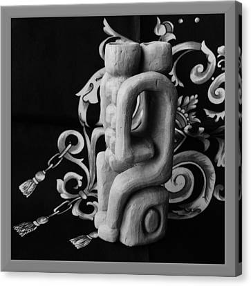 Chained Together Canvas Print by Barbara St Jean