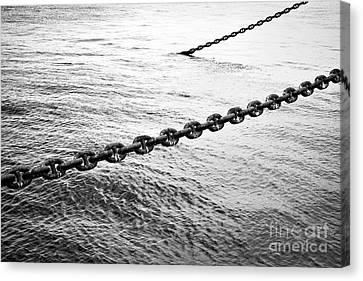 Chains Canvas Print by Dean Harte