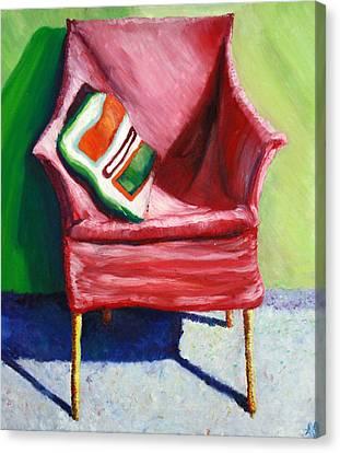 Chair Canvas Print by Aletha Keogh