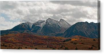 Canvas Print featuring the photograph Chair Mountain  by Eric Rundle