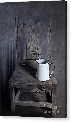 Chair Of Horror Canvas Print by Svetlana Sewell