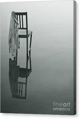 Chair Reflection Canvas Print