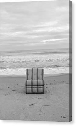 Chair Canvas Print by Thomas Leon