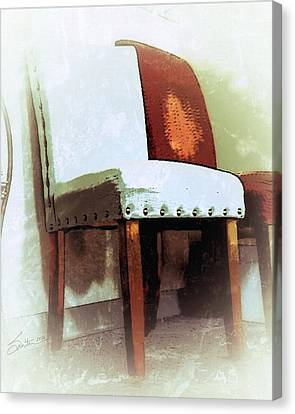 Chairs Canvas Print by Robert Smith