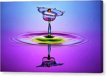 Chalice Colors Full Canvas Print by Muhammad Berkati