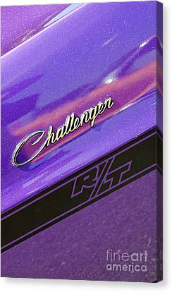 Challenger Rt Badging Canvas Print by Mark Spearman