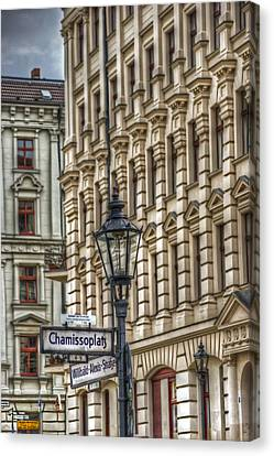 Chamissoplatz Canvas Print by Nathan Wright