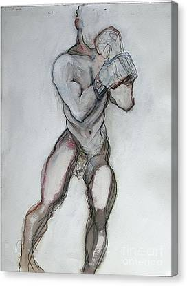 Champ Canvas Print by Carolyn Weltman