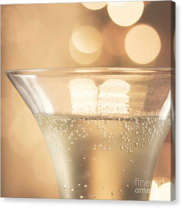 Champagne Celebration Canvas Print by Kim Fearheiley
