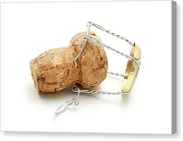Champagne Cork Stopper Canvas Print by Fabrizio Troiani