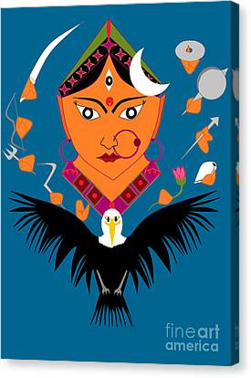Chandraghanta Canvas Print by Pratyasha Nithin