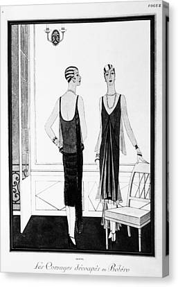 Chanel Illustration, 1926 Canvas Print